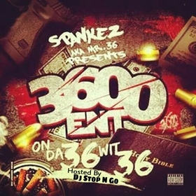 On Da 36 Wit 36 Spankez front cover