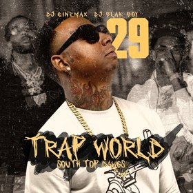 Trap World 29 DJ Cinemax front cover