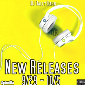 New Releases 9/29 - 10/5 DJ Tally Ragg front cover