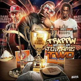 Trappin Was My Claim To Fame 2 3rdy Baby front cover
