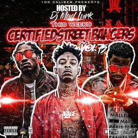 This Weeks Certified Street Bangers Vol.75 DJ Mad Lurk front cover