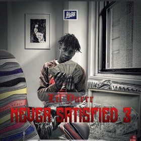 Never Satisfied 3 Lil Yurrr front cover