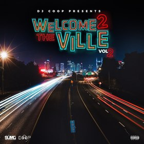 Welcome 2 The Ville Vol 2 DJ Coop Hoe front cover