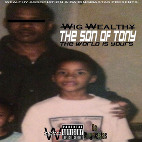 THE SON OF TONY, The World is Yours Wig Wealthy front cover