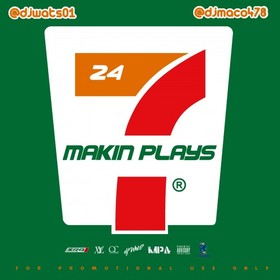Makin' Plays 24/7 DJ Maco front cover