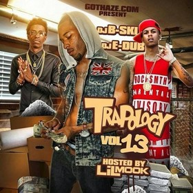 Trapology 13 Dj E-Dub front cover