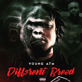 Young ATM - Different Breed MellDopeAF front cover