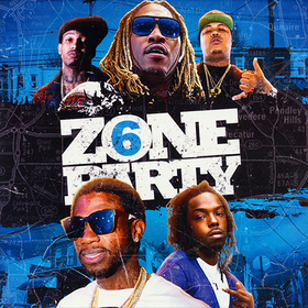 ZONE 6 PARTY DJ Jeff Duran front cover