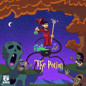 The Potion Zel front cover