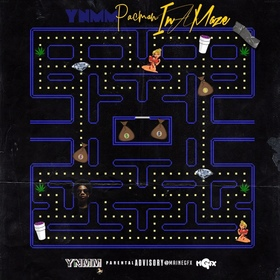 In A Maze YNMM PacMan front cover