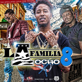 DJ DES | The Block Never Sleeps Present -  La Familia 8  The Aphilliates DJ Des front cover