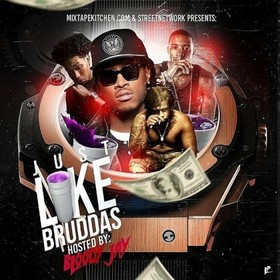 Just Like Bruddas (Hosted By Bloody Jay) Dj E-Dub front cover
