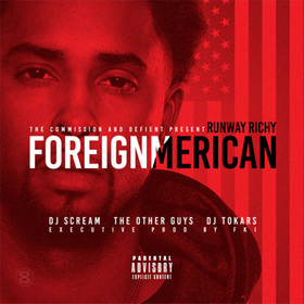 ForeignMerican Runway Richy front cover