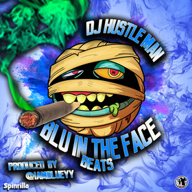 Blu In The Face Beats Dj Hustle Man front cover