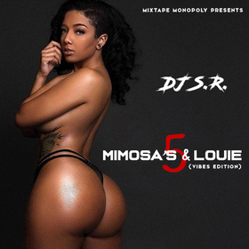 Mimosa's & Louie 5 DJ S.R. front cover
