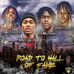 Hall of Famers - Road To Hall of Fame DJ Louie V front cover