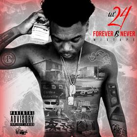 Forever Is Never Lil 24 front cover