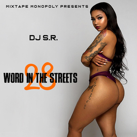 Word In The Streets 28 DJ S.R. front cover
