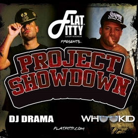 Flat Fitty Presents: Project Showdown DJ Drama front cover