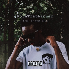 #NotATrapRapper The Ep TazzInaShell front cover