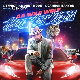 Sleep Less Nights A.R. Wild Wolf front cover