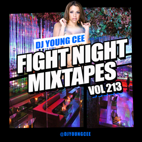 Dj Young Cee Fight Night Mixtapes Vol 213 Dj Young Cee front cover