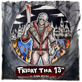Friday Tha 13th Cash Milan front cover