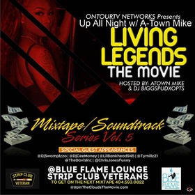 Living Legends The Movie Dj Bigg Spud front cover