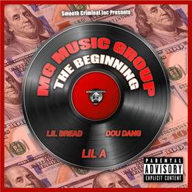 MG Music Group : The Beginning Thrilla front cover