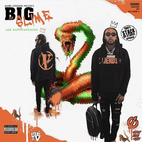 BIG SLIME (The EP) AAB Rastafarrian front cover