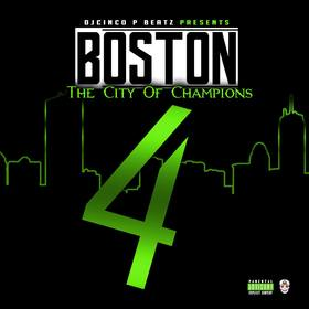 CIty of Champions Vol 4 #HipHop DJ Cinco P Beatz front cover