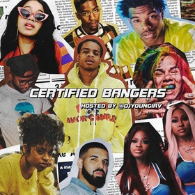 Certified Bangers DJ Young Irv front cover