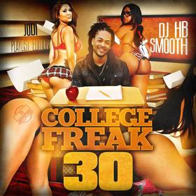 College Freak 30 DJ HB Smooth front cover