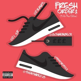 Fresh Order 2 DJ S.R. front cover