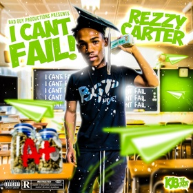 Rezzy Carter- I Can't Fail! Heavy G front cover