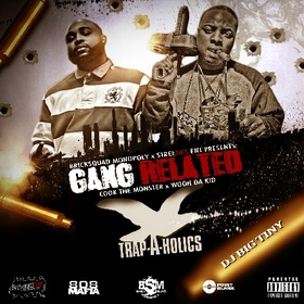 Gang Related Cook Tha Monster front cover