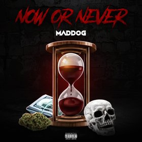 NOW OR NEVER MADDOG front cover