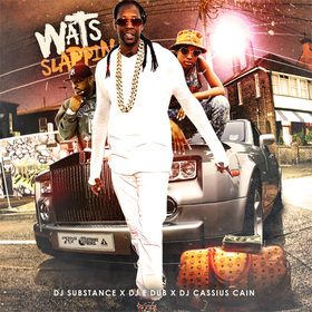 Wats Slappin DJ Cassius Cain front cover