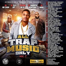 All Trap Music Only DJ MF Cash front cover