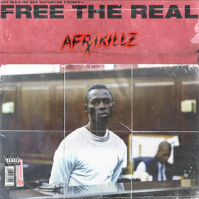 FREE THE REAL afrikillz  front cover