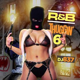 R&B Thuggin 6 DJ 837 front cover