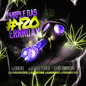 Purple Gas #420 Errrday DJ Smoke front cover