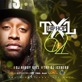 Hip Hop TXL Vol. 62 DJ Reddy Rell front cover