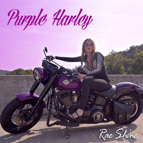 Purple Harley Rae Shine  front cover