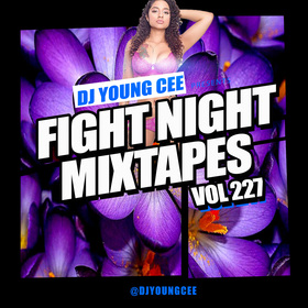 Dj Young Cee Fight Night Mixtapes Vol 227 Dj Young Cee front cover