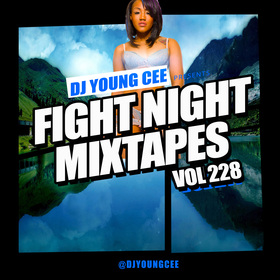 Dj Young Cee Fight Night Mixtapes Vol 228 Dj Young Cee front cover