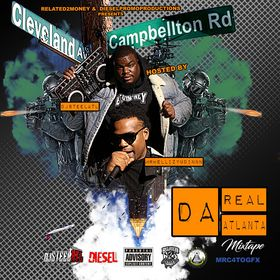 DA REAL ATLANTA DJ Steel ATL front cover