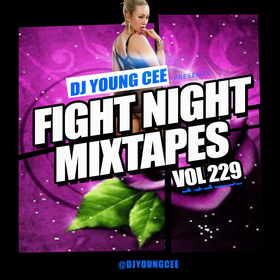 Dj Young Cee Fight Night Mixtapes Vol 229 Dj Young Cee front cover