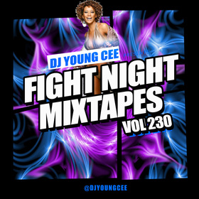 Dj Young Cee Fight Night Mixtapes Vol 230 Dj Young Cee front cover
