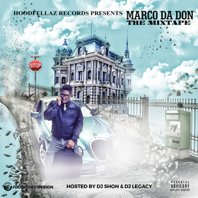 Marco Da Don The Mixtape DJ Shon front cover